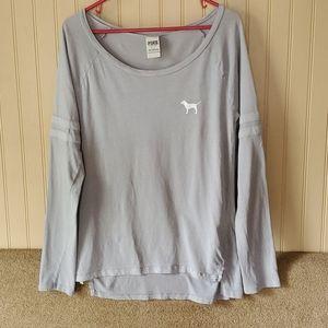 PINK Victoria's Secret tee/nightshirt small blue